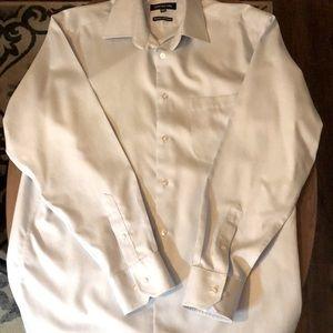 Jones New York Pale Blue Dress Shirt